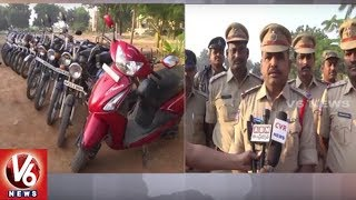 Siddipet Police Conducts Cordon And Search Operation In Ramachandra Nagar | Seizes 31 Vehicle