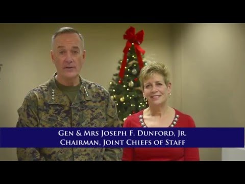 CJCS Gen. and Mrs. Joseph F. Dunford's Holiday Message 2015