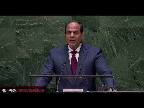 El-Sissi: Egypt a 'beacon of moderate Islam'
