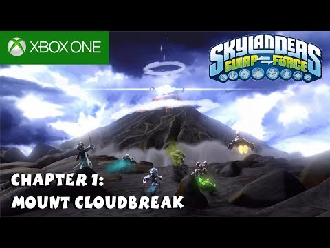 Skylanders Swap Force XBox One Gameplay 1080P Chapter 1 : Mount Cloudbreak