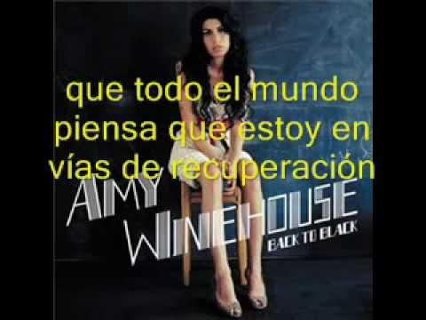 Amy Winehouse - Rehab (Subtitulada en español)