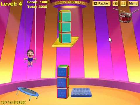 Games Games Circus Acrobats Circus Acrobats Gameplay