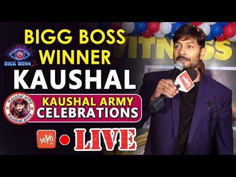 Kaushal LIVE | Bigg Boss Winner Kaushal | Kaushal Army Celebrations | #Kaushal Interview| YOYO TV