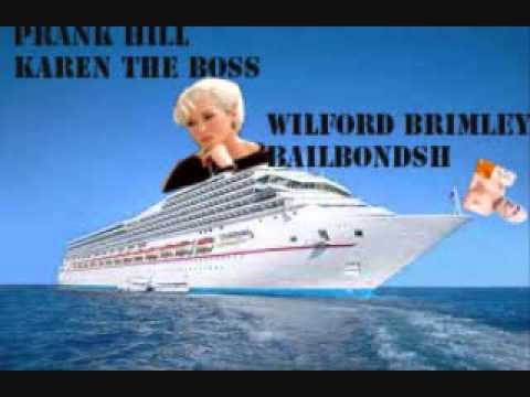 Bailbondsh and Karen The Boss (Prank Hill) Call Caribbean Cruise Lines