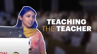 Teaching the teacher