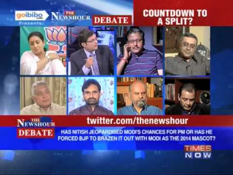 The Newshour Debate: Is the BJP and Nitish Kumar split inevitable? (Part 1 of 3)