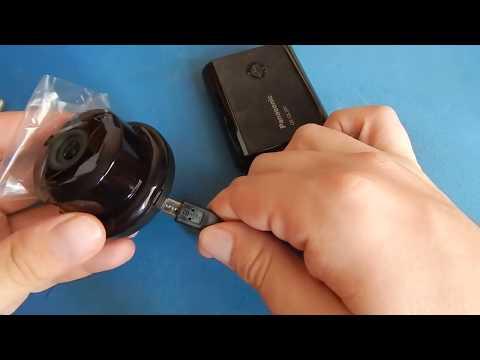 [Подключение и настройка] IP-камера ESCAM Q6 Button from Gearbest