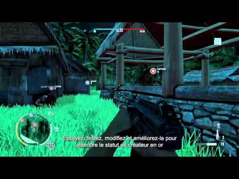 Far Cry 3 - L'éditeur de cartes