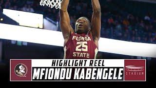Mfiondu Kabengele Florida State Basketball Highlights - 2018-19 Season   Stadium