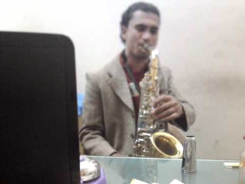 Bedardi balma  tujhko mera mann : Instrumental (Alto saxophone...