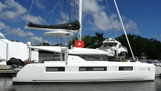 Walkthrough of the new Lagoon 50 catamaran