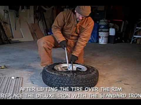 Emergency Tire repair: Tire removal