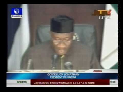 Jonathan Declares State Of Emergency In Borno, Yobe, Adamawa States