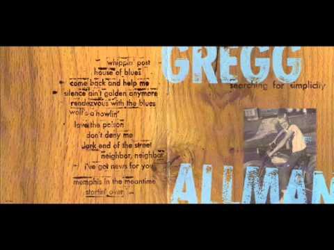 Gregg Allman - Dark End Of The Street