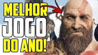 GOD OF WAR É O JOGO DO ANO! - TODOS OS VENCEDORES DO THE GAME AWARDS 2018