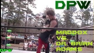 DPW Ecstasy of Gold│Maddox vs. Dr. Brian Adams
