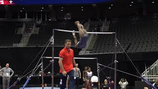 Simone Biles - Podium Training Uneven Bars  - 2019 U.S. Gymnastics Championships