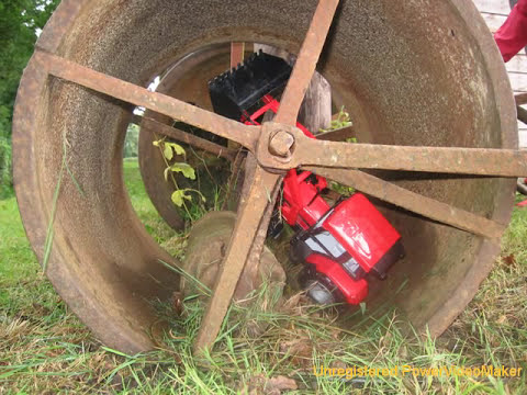 Toy Tractors in Trouble
