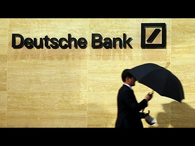 Deutsche Bank já perdeu 40% em bolsa este ano - corporate