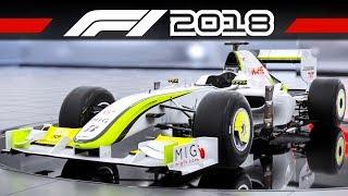 F1 2018 Brawn BGP 001 + BMW Williams FW25 | CLASSIC CAR TRAILER | Formel 1 2018 Vorbesteller-Autos