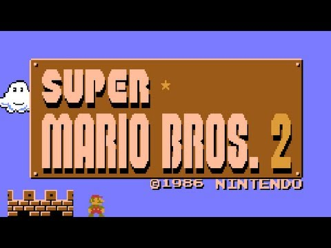 Super Mario Bros 2 Japan NES Game Review - Lazy Game Reviews