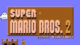 LGR - Super Mario Bros 2 Japan - NES Game Review