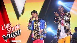 แดนนี่&ไปป์ - บักแตงโม - Live Show - The Voice Thailand 2018 - 18 Feb 2019