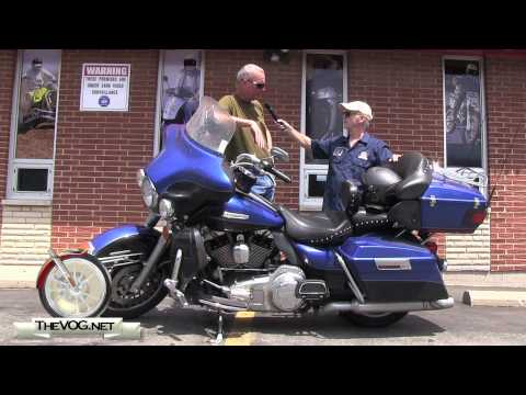 Harley Electra Glide Ultra Limited Rider Compares Victory Vision and Honda Goldwing