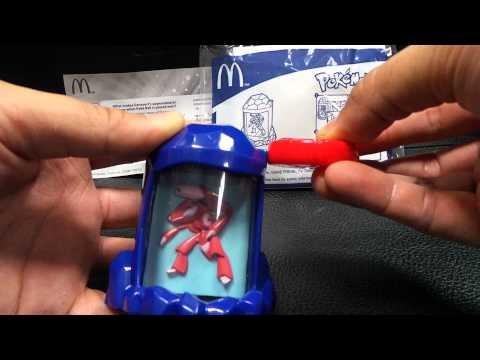 麥當勞Mcdonald's Happy Meal Toy兒童餐玩具 神奇寶貝 Pokemon ポケットモンスター Genesect Magnetic Turn