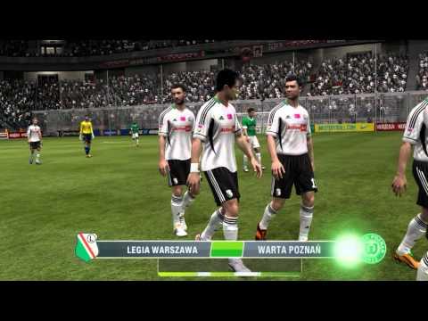 FIFA 13 [PLP 13!] | Kariera Warta Poznań #8 Cały Mecz Z Legią Warszawa!