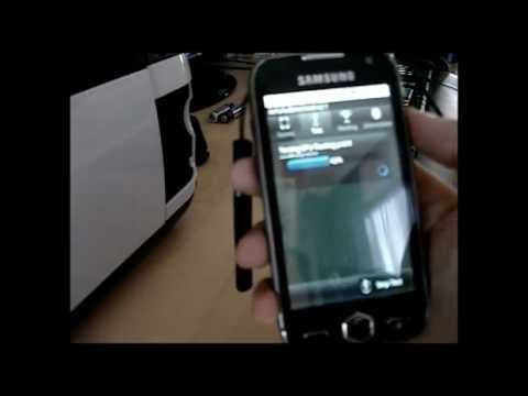 Samsung Omnia 2 Android - Benchmark on internal memory installation