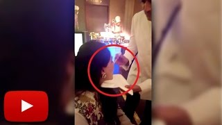 (VIDEO) Riteish Deshmukh Feeding Wife Genelia At Bipasha Basu