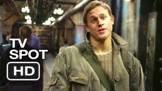 Pacific Rim TV SPOT - 2,500 Tons of Awesome (2013) - Guillermo del Toro Movie HD