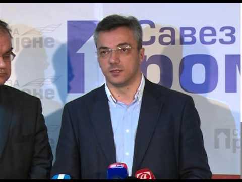 Ognjen Tadic i Mladen Ivanic-konferencija za novinare