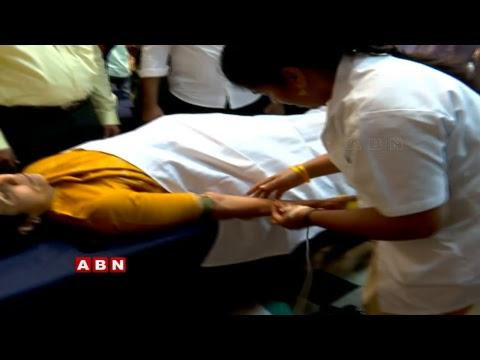 Nara Bhuvaneswari LIVE | NTR Trust Blood Donation Drive at NTR Trust Bhavan | ABN LIVE