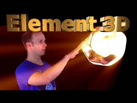 Video Copilot Element 3D Tutorial - 3D Integration VFX Part 6