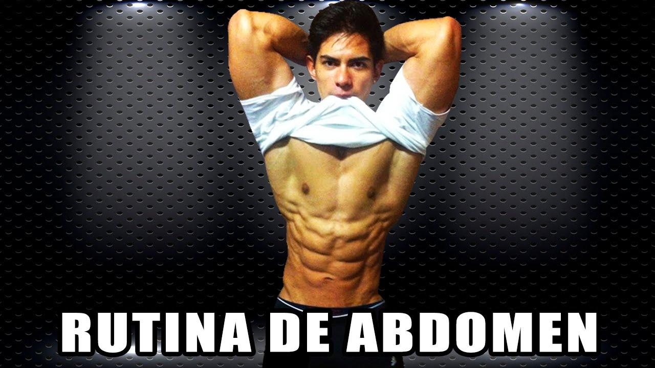 Rutina de abdomen abdominales mujer y hombre con for Fitness gym hombres