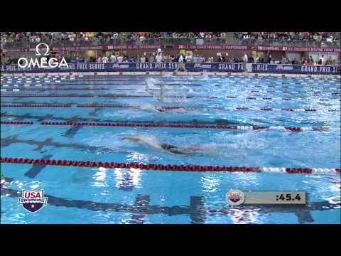 Women's 100m Backstroke C Final - 2012 Columbus Grand Prix