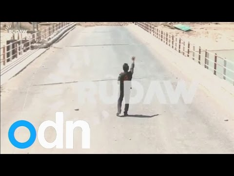 Kurdish reporter talks to ISIS militants