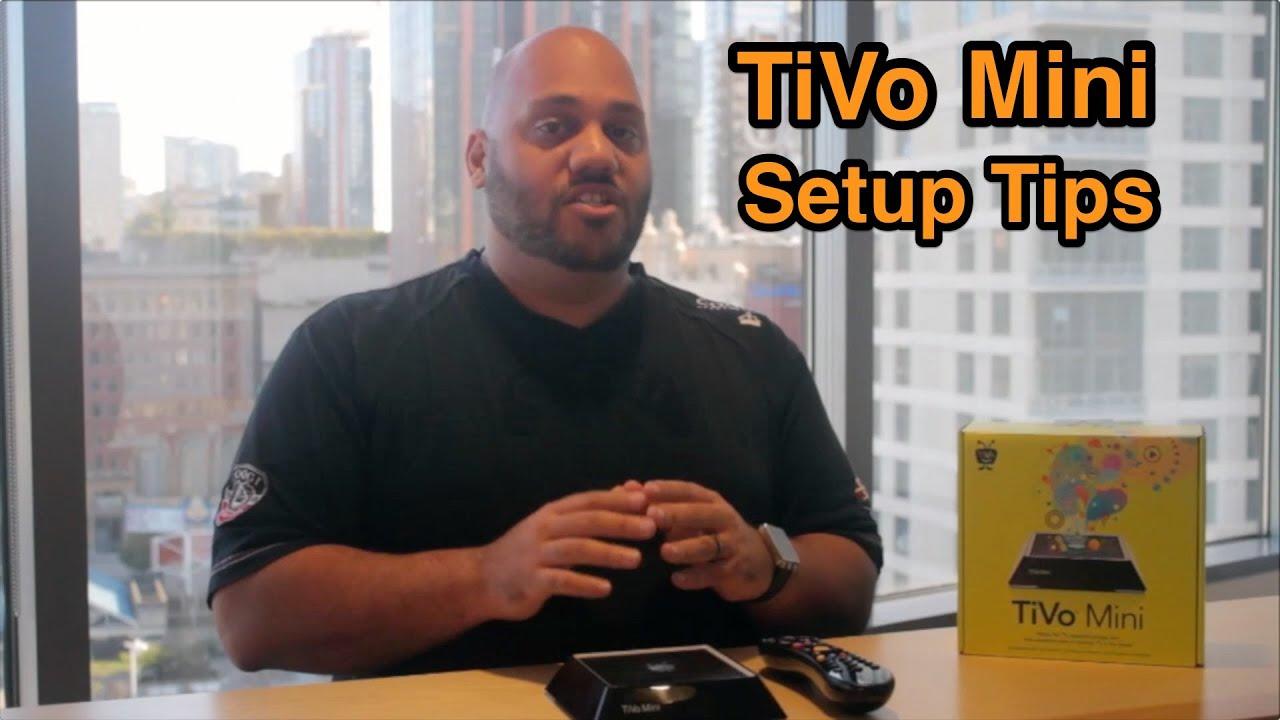 How To Set Up Tivo Mini