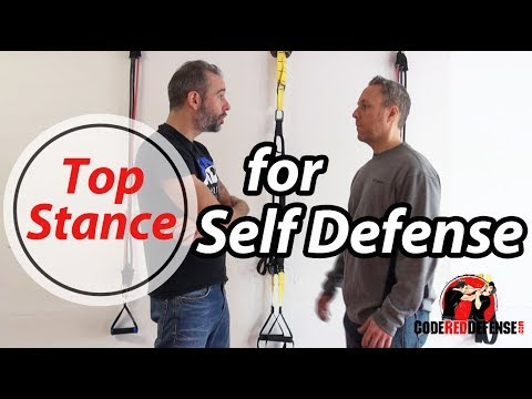 Top Self Defense Stance