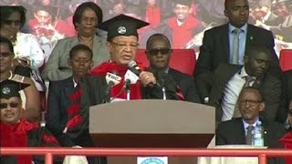 Graduation ceremony for Bahir Dar University Graduates