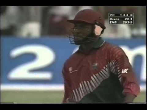 Brian Lara 110 vs England 1st ODI 1998