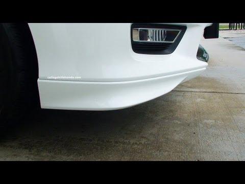 Episode #244 - 9th Gen Honda Accord Sedan Front Underbody Spoiler Installation - YouTube