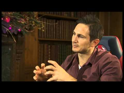 Frank Lampard clip from MOTD Kickabout Interview