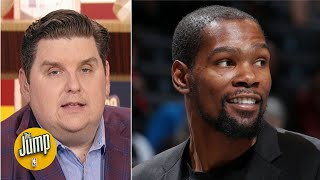 Dreaming of Kevin Durant is the worst thing that's happened to Knicks - Brian Windhorst | The Jump