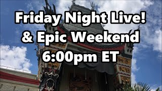 Epic Live Stream Announcement - Friday and More!! - Walt Disney World - ResortTV1