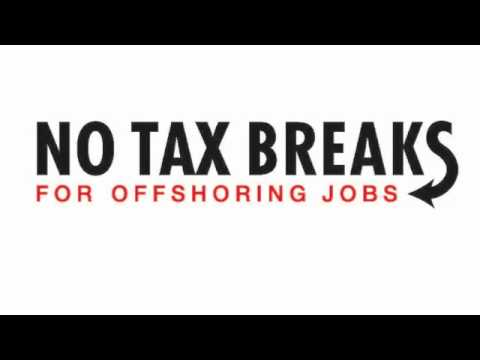 No Tax Breaks For Offshoring NY Jobs!