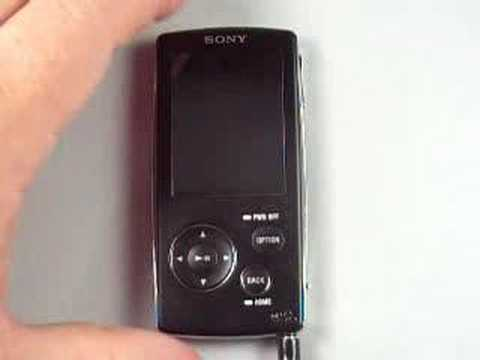 Sony Walkman 4GB Video MP3 Player