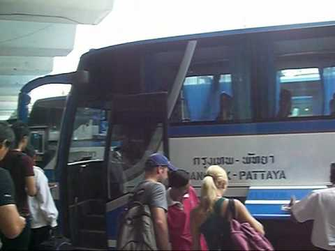 How to bus from Bangkok to Pattaya for $3 dollars